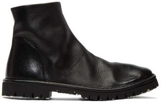 Marsèll Black Santacco Boots