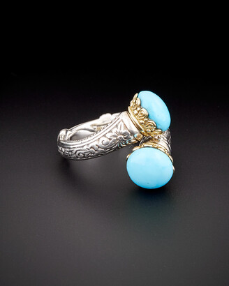 Konstantino Hermione 18K & Silver 5.00 Ct. Tw. Turquoise Ring