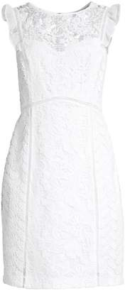 Lilly Pulitzer Maya Floral Lace Sheath Dress