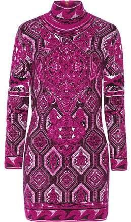 Emilio Pucci Jacquard-Knit Dress