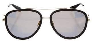 Gucci Aviator Reflective Sunglasses w/ Tags