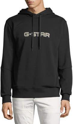G Star G-Star Men's Logo-Print Hoodie Sweatshirt