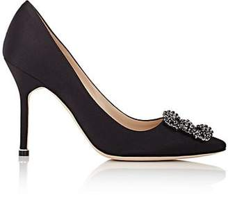 Manolo Blahnik Women's Hangisi Pumps - Black