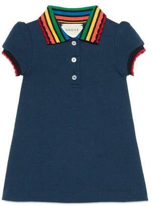 Gucci Baby cotton dress with fawns