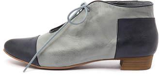 Django & Juliette Elista Navy-denim Shoes Womens Shoes Flat Shoes