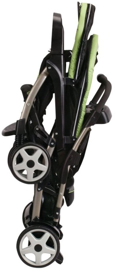 Graco Ready2Grow Click Connect LX Stand & Ride Stroller - Glacier