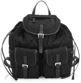 Prada Large Tessuto Impunturato Backpack