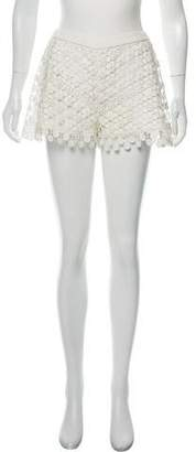 Alexis Crochet Mini Shorts
