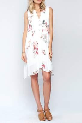 Gentle Fawn Gardenia Print Dress