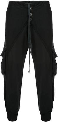 Greg Lauren tapered track pants