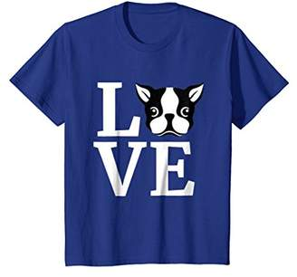 I Love My Boston Terrier T-Shirt - Gifts for Dog Lovers Gift