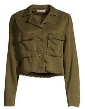 Bella Dahl Cropped Military Jacket