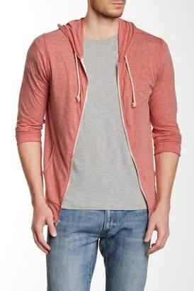Threads 4 Thought Zip Front Hooded Sweatshirt