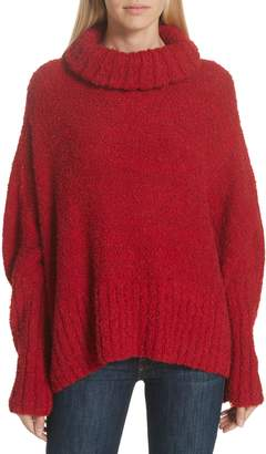 Smythe Alpaca & Wool Blend Swing Turtleneck