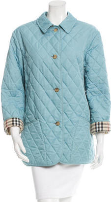 Burberry Light Weight Quilted Coat $355 thestylecure.com