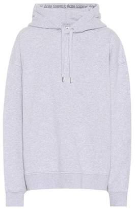 Acne Studios Oversized hooded cotton sweatshirt