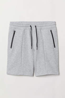 H&M Jersey Sports Shorts - Gray