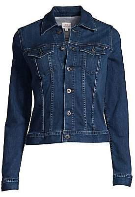 AG Jeans Women's Robyn Light Wash Denim Jacket