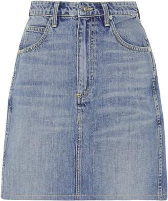 Eve Denim Tallulah HIgh-Rise Denim Mini Skirt