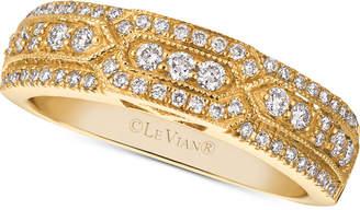 LeVian Le Vian Vanilla Diamond Ring Band (3/8 ct. t.w.) in 14k Gold