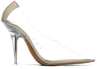 Yeezy Transparent Pointed Pumps