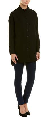 Armani Exchange Fluid Shirtdress