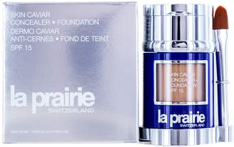 La Prairie N30 Satin Nude 1Oz Skin Caviar Concealer + Foundation Sunscreen Spf 15
