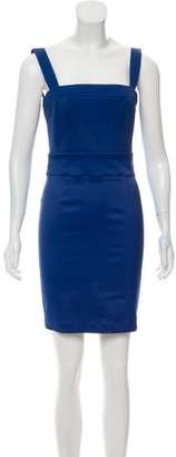 Galliano Sleeveless Mini Dress
