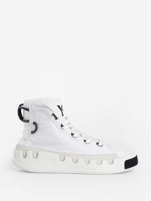 5e7dd66d23198 Y-3 Y 3 Women s White Kasabaru High Top Sneakers