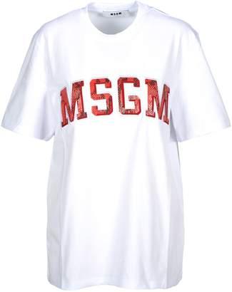 MSGM Tshirt Logo Snake