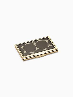 Kate Spade Down to business card holder