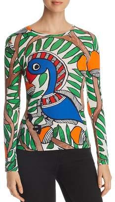 Tory Burch Parrot Print Tee