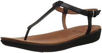 f87f25bbd FitFlop Women s Tia Toe-Thong Sandals - Leather Open