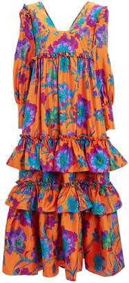La DoubleJ Casati Floral Dress