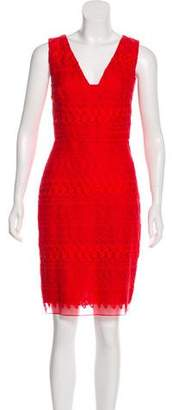 Giambattista Valli Embroidered Sheath Dress Set