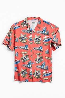 FairPlay Los Angeles Tour Short Sleeve Button-Down Shirt