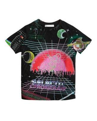 Burberry Galaxy Graphic Tee, Size 4-14