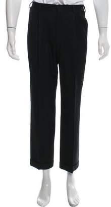 Ralph Lauren Purple Label Pleated Wool Pants