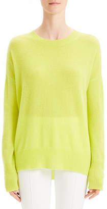 Theory Karenia Cashmere Crewneck Pullover Sweater