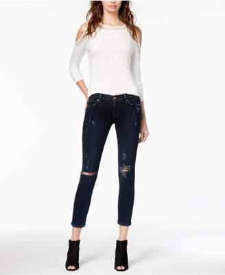Hudson Ripped Skinny Jeans