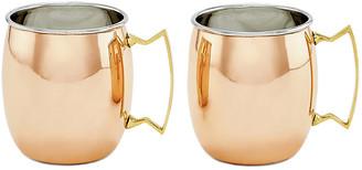 One Kings Lane Set of 2 Hansley Moscow Mule Mugs - Copper