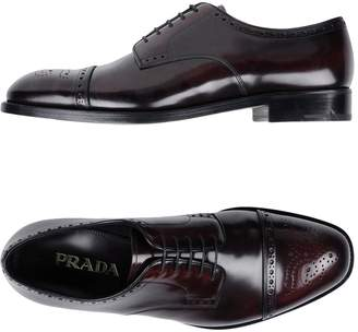 Prada Lace-up shoes - Item 11501392IH