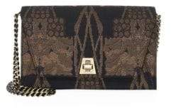 Akris Anouk City Fruits Of Vien Jacquard Shoulder Bag