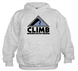 CafePress - Rock Climbing - Kids Hooded Sweatshirt, Classic Hoodie
