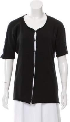 Bottega Veneta Knit Short Sleeve Cardigan
