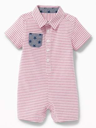 Old Navy Americana Oxford One-Piece for Baby