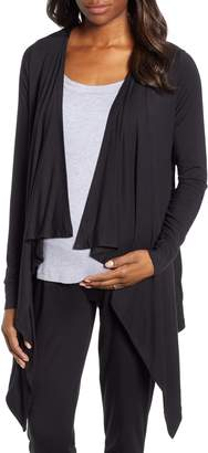 Angel Maternity Maternity/Nursing Cardigan, Tank & Pants Set