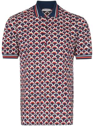 Valentino scale logo polo shirt