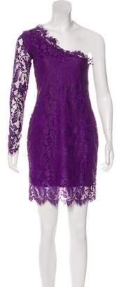 Pierre Balmain Lace One-Shoulder Dress w/ Tags