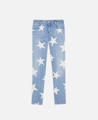 Stella McCartney Skinny Ankle Grazer Star Jeans, Women's